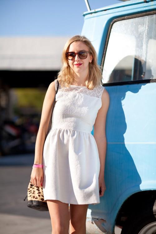 Zara White Tulip Dress This White Tulip Dress