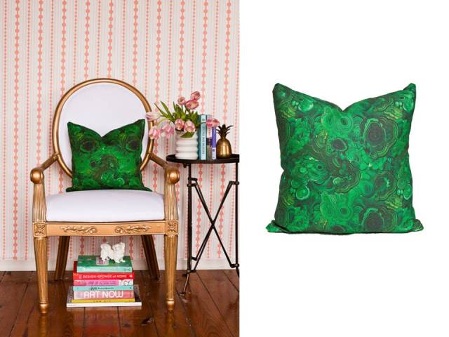 Society Social Malachite Pillow Slide