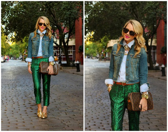 Emerald Green - Blair Eadie Pants