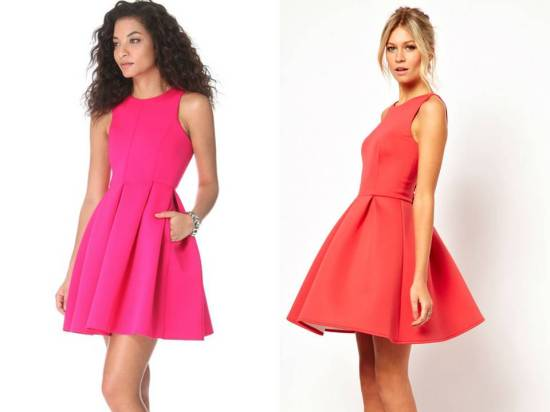 ASOS v Tibi Skater Dress