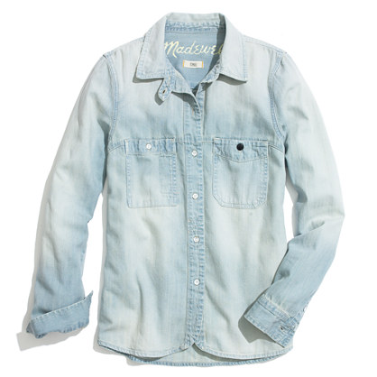 Madewell Denim Boyfriend Shirt
