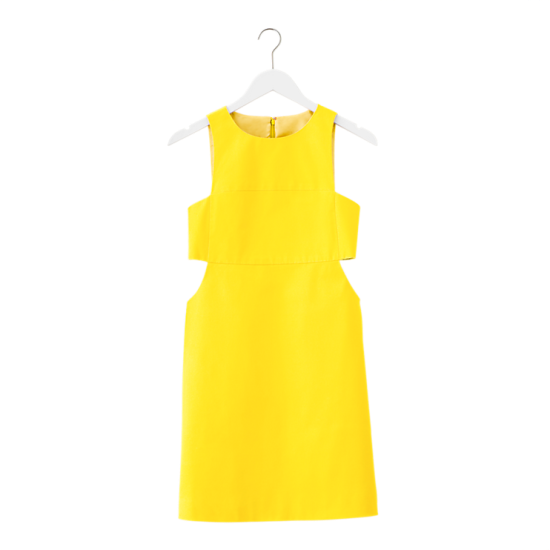 Saturday Shape Shifter Dress in Yellow