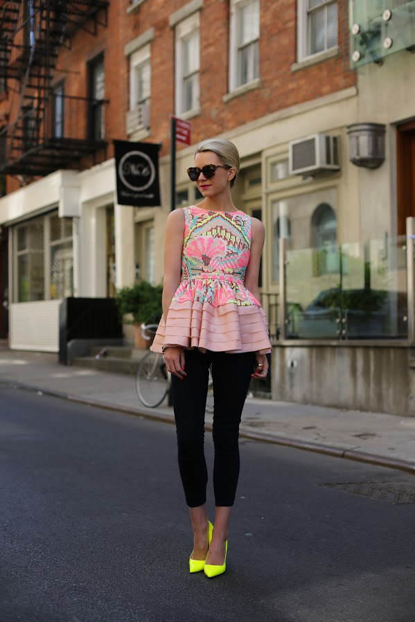 Atlantic Pacific Peplum and Neon 2