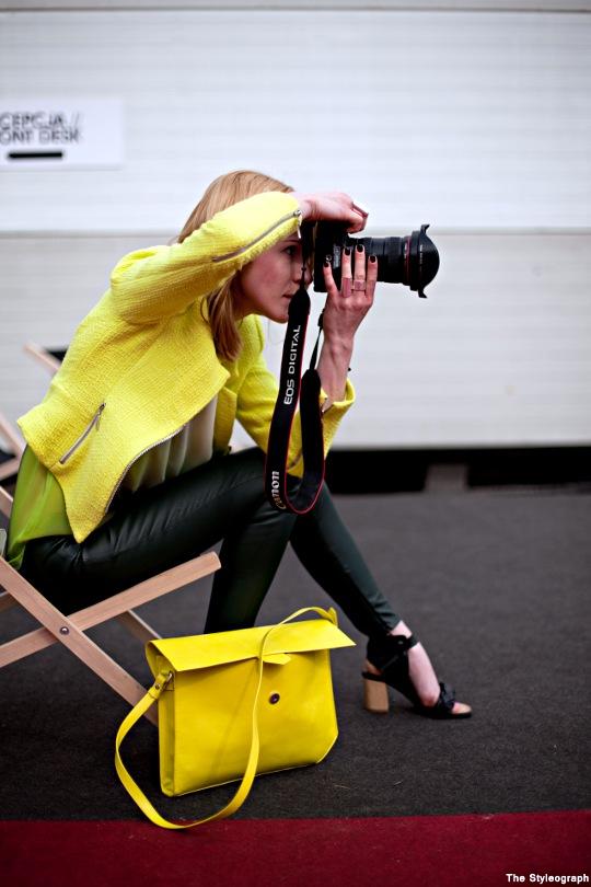 Poland+Fashion+Week+Neon+Street+Fashion