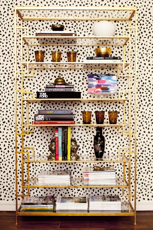 Tiffany Richey Office Etagere + Spots