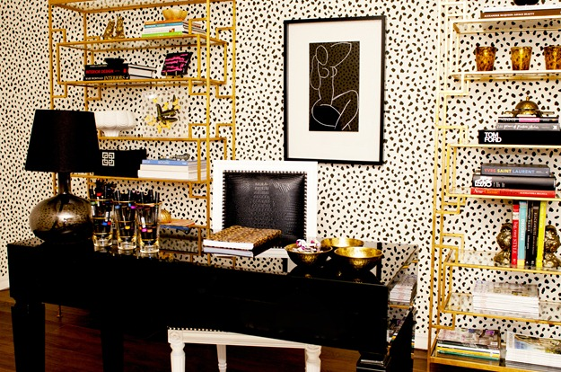 Tiffany Richey Office Spotted Wallpaper ...