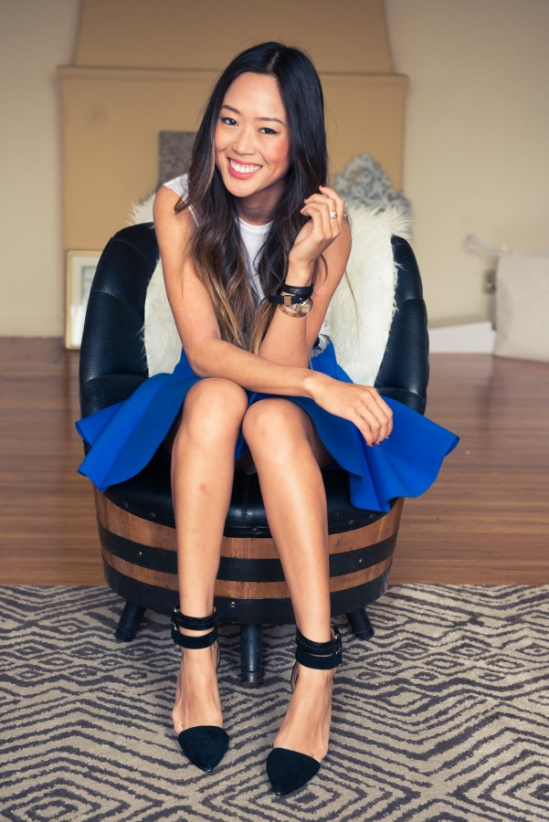 Aimee-Song-The-Coveteur-70s-barrel-chair