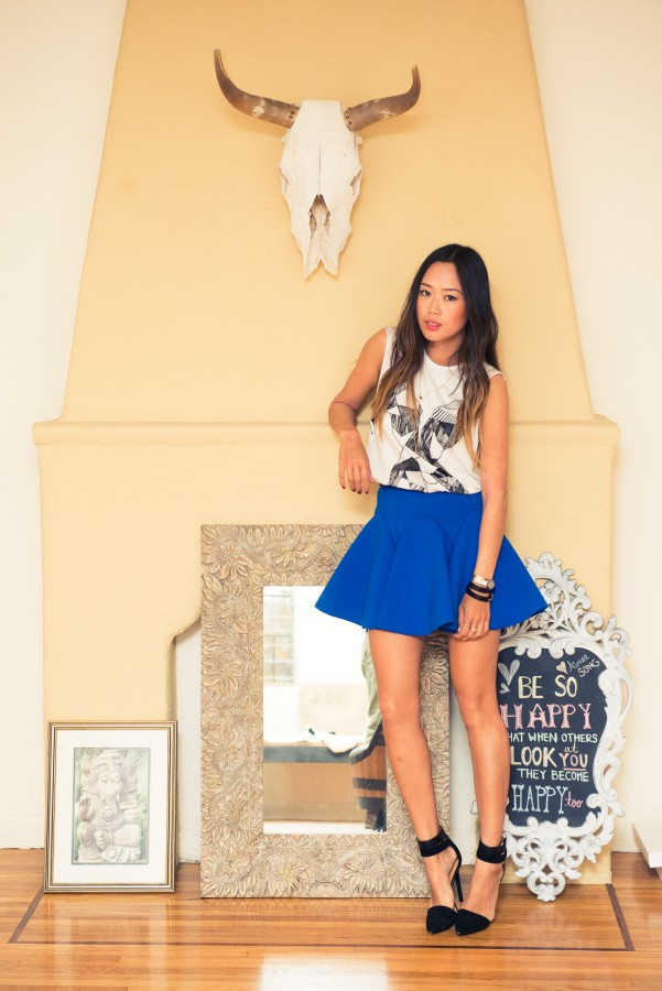 Aimee-Song-The-Coveteur-fireplace-skull