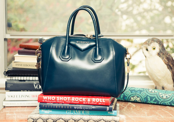 Aimee-Song-The-Coveteur-GIvenchy-bag-books