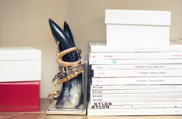 Aimee-Song-The-Coveteur-horns-as-jewelry-holder