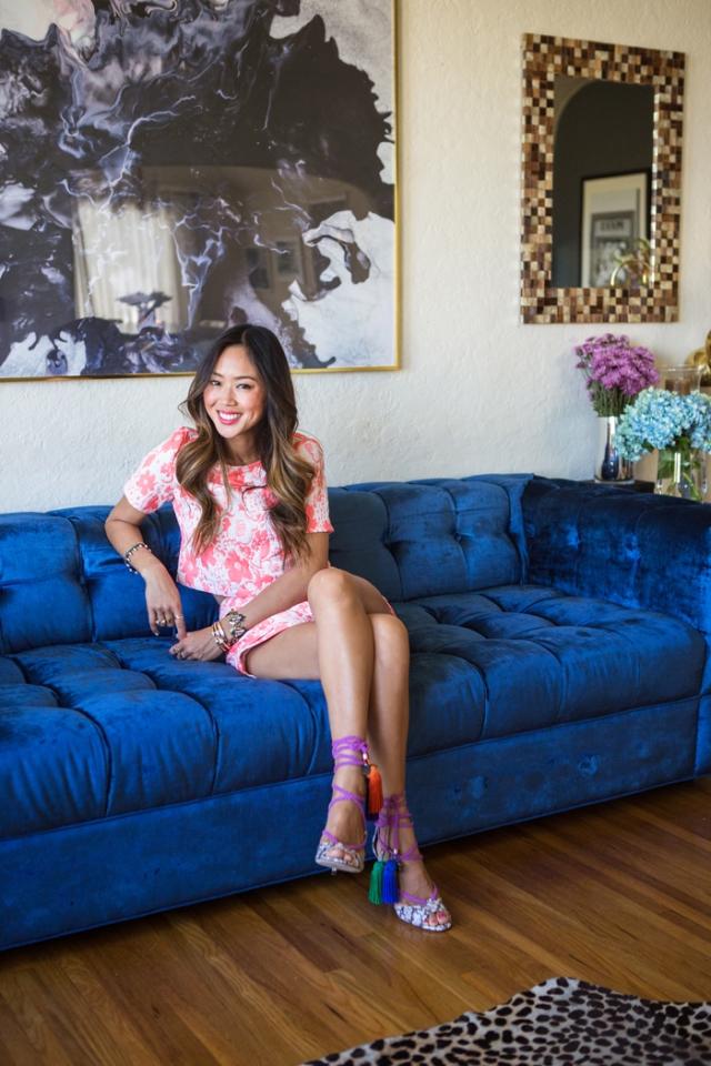 Aimee_Song_BlueSofa_Living_Room_Vogue