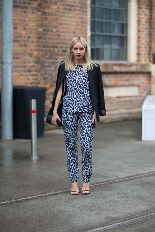 Matchy Matchy Separates Harper's Bazaar Street Style