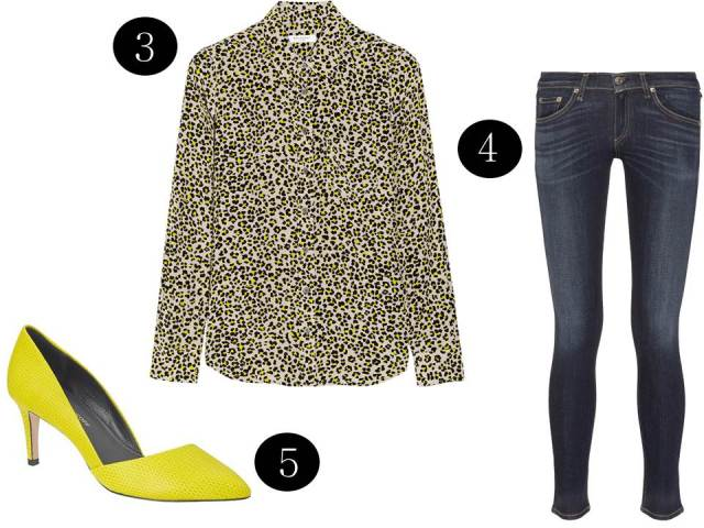 Equipment-Leopard-Neon-Blouse-Rebecca-Minkoff-Pump-Rag&Bone-Jean