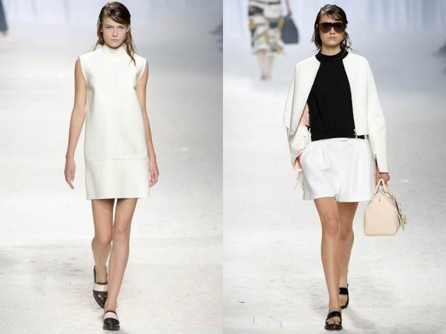 3.1 Philip Lim SS 2014 White Black