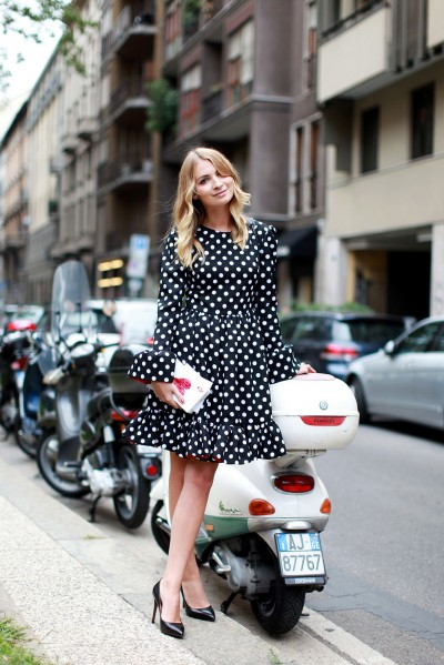 Milan Fashion Week Street Style The Covetable