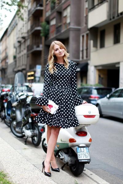 Milan Fashion Week Street Style The Covetable