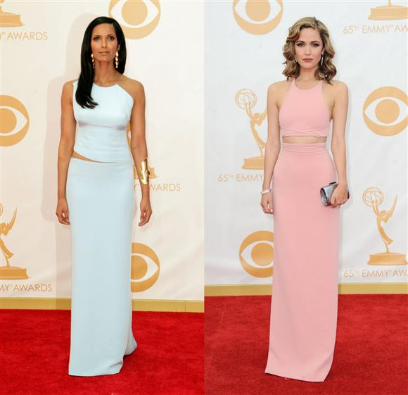 Padma Rose Byrne Emmys Red Carpet