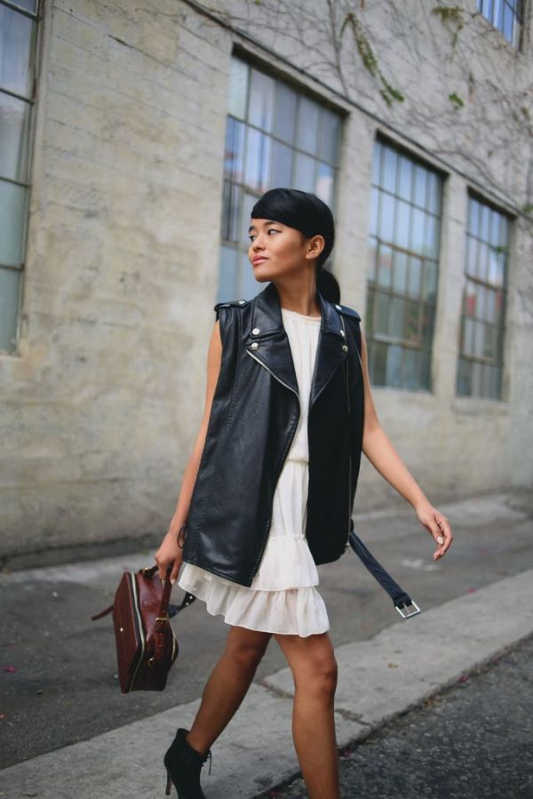 Black&White_Moto_Vest_WhiteDress_StreetStyle