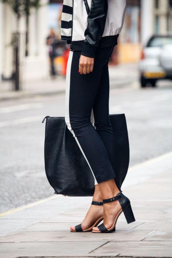 Black&White_StreetStyleStripe_Bomber_Leggings