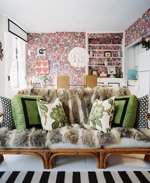Covetable Interiors: Decor Inspo: Pattern Play