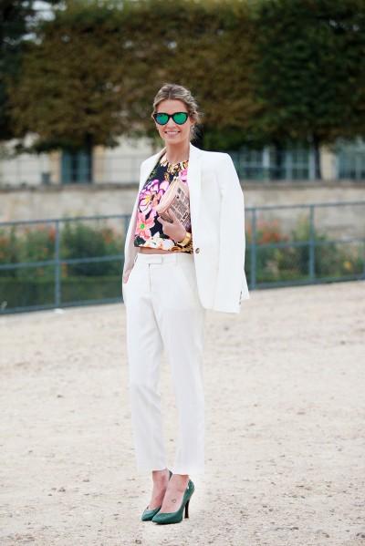 Paris FW Street Style Spring Summer 2014 10