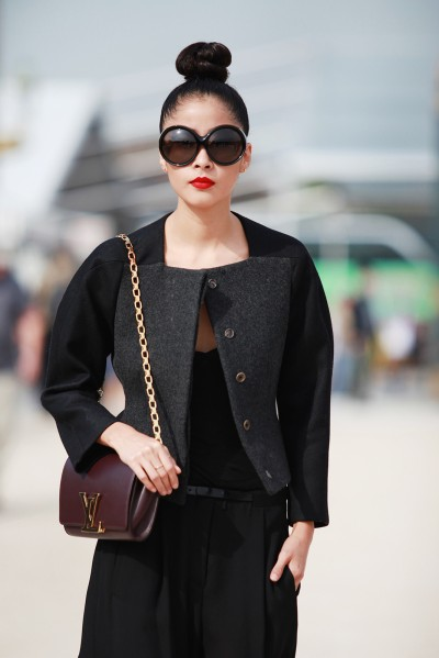 Paris FW Street Style Spring Summer 2014 6