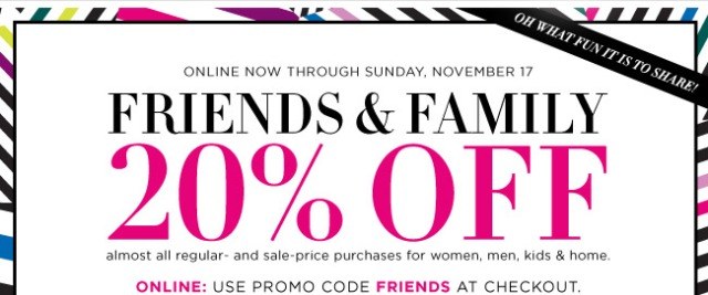 Bloomingdales_Friends&Family_20PercentOff_SaleAlert