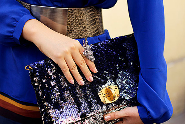 Cobalt-Dazzling-Blue-Street-Style-Trend-2014-Accessories-Details