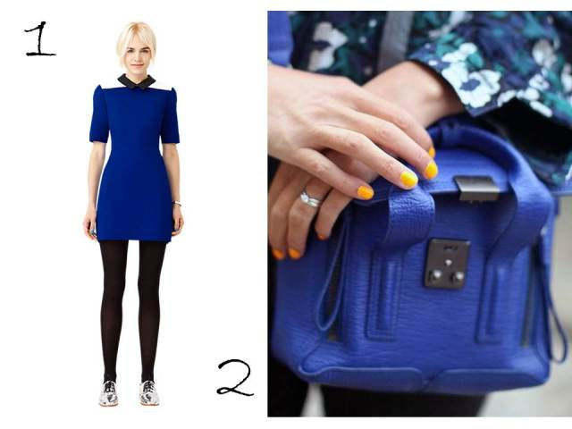 KateSpadeSaturday-Cobalt-Blue-collar-Dress-3.1PhilipLim-Pashli-Satchel-cobalt-Blue-Trend