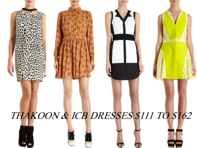 Barneys Warehouse Cyber Monday Sale Thakoon ICB Dresses Extra 30% Off