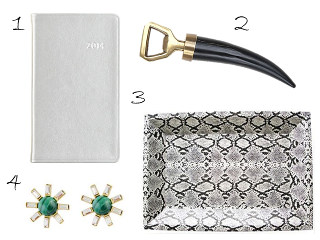 Gift Guide Under $50 Snakeskin Python Tray Horn Bottle Opener Planner Earrings Jayson Home
