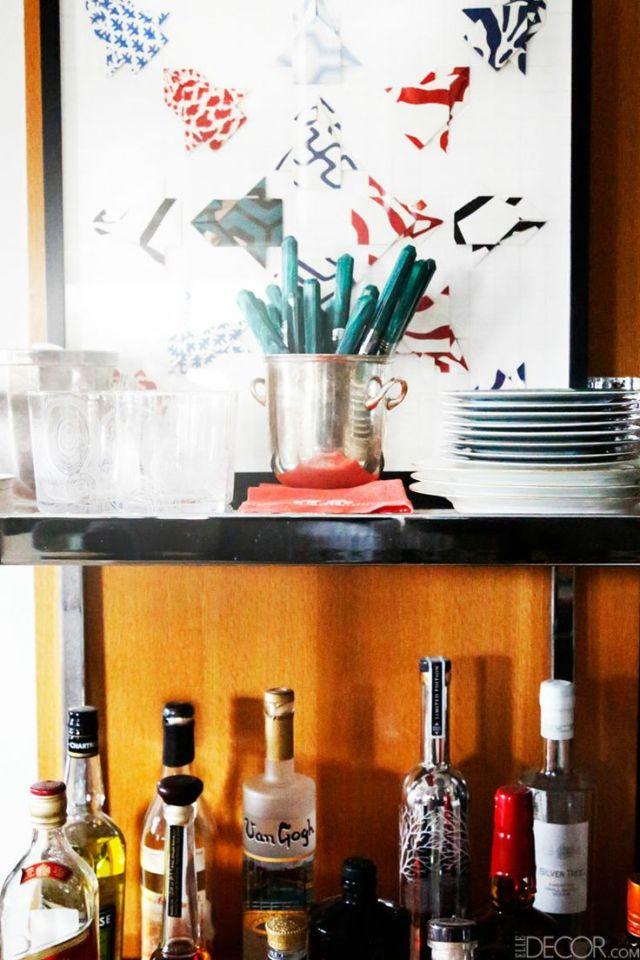 8-Lindsey Coral Harper Apartment Malachite Flatware