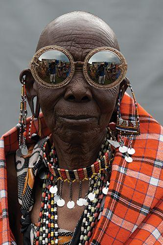 Karen Walker Number One Kenyan Artisan Lookbook Visible Campaign 11