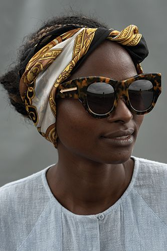 Karen Walker Number One Kenyan Artisan Lookbook Visible Campaign