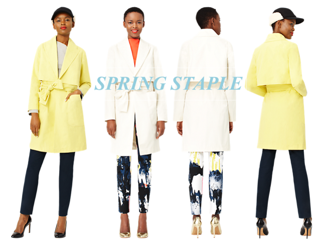 Kate Spade Saturday Trench Spring Staple