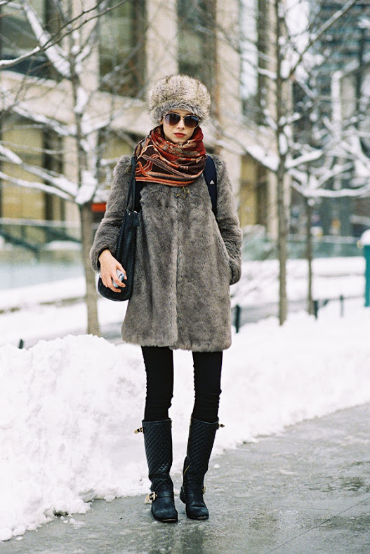 covetable cold weather street style the covetable