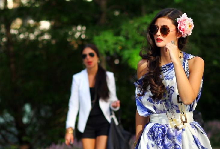 peony lim fashion week scarf dress 8ce8f06766026