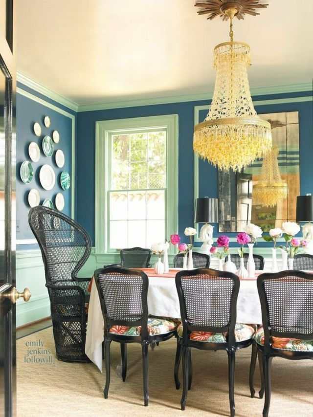 Cinda and Mark Atlanta Home Tour Dining Room