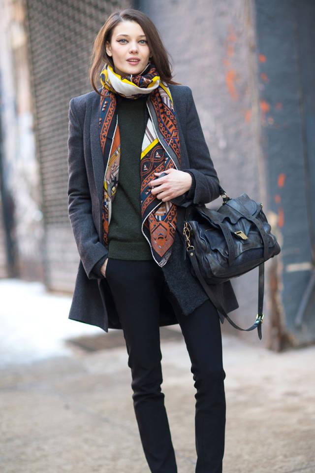 NYFW-street-style-nyfw14-day2-PS1bag-scarf