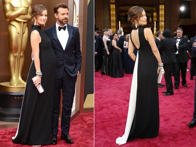 Olivia-Wilde-Oscars-2014-red-carpet-best-dressed-jason-sudeikis
