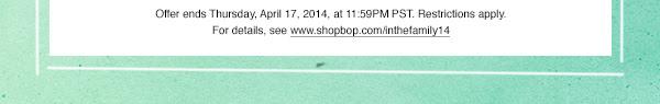 ShopBop-Friendsandfamily-25%off-sale-2014-spring-summer-sale-alert3