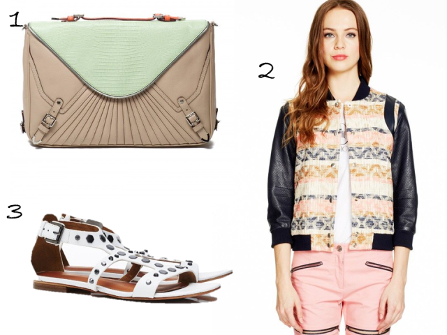 rebecca-minkoff-online-sample-sale-spring-summer-2014-bomber-clutch-sandals