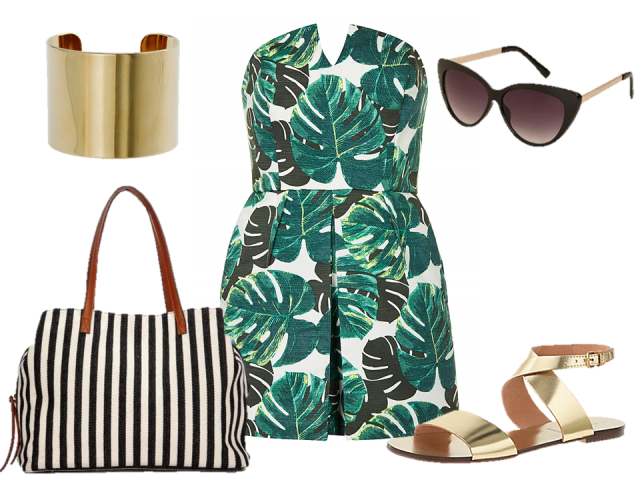 fashion-challenge-day-romper-tote-sandals-thecovetable