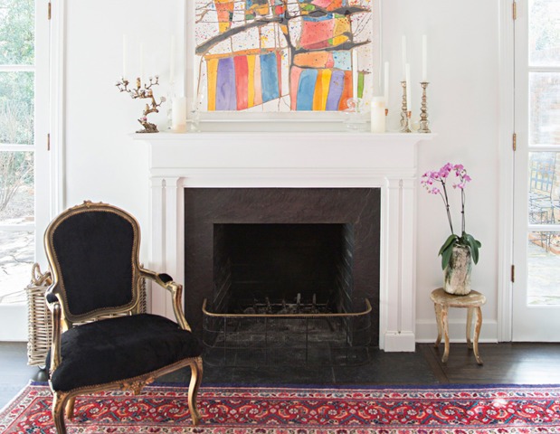 eclectic-modern-traditional-nashville-home-tour-art-thecovetable