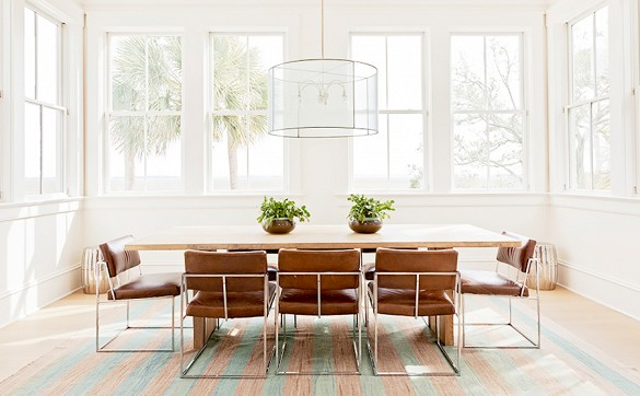 home tour darius rucker beach house dining by angie hranowsky 1