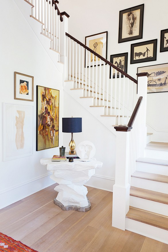 home tour darius rucker beach house entry by angie hranowsky