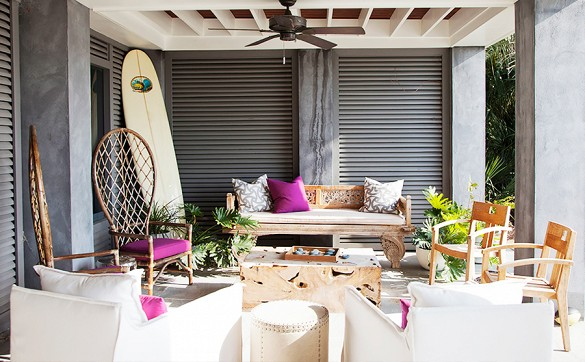 home tour darius rucker beach house patio by angie hranowsky 1