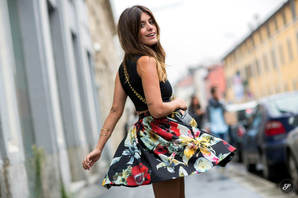 the best attitude 2a922 835ef Fashion Week Street Style: La Dolce Vita in Milan | the ...