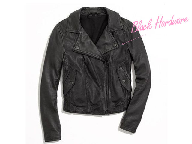 Finds Madewell Perfect Leather Motorcycle Jacket via The Covetable