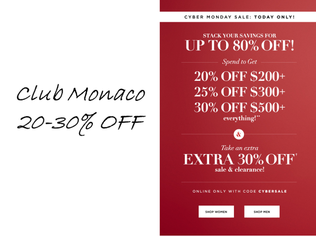 1-CYBER-MONDAY-SALE-CLUB-MONACO-thecovetable